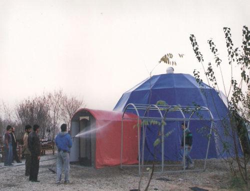 ساخت سالن اکوستیک پرتابل با ترکیب متریال