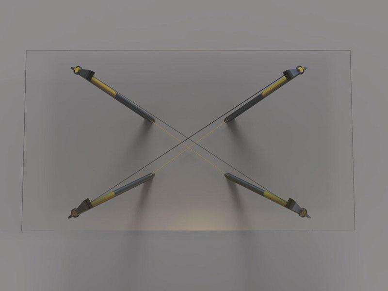 طراحی سه بعدی ساختمان با مداد